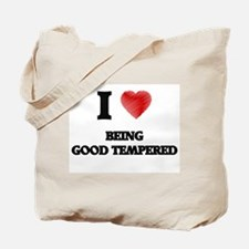 Being Good Tempered Tote Bag