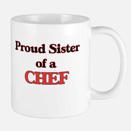 Proud Sister of a Chef Mugs
