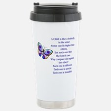 A Child Is Like a Butte Stainless Steel Travel Mug