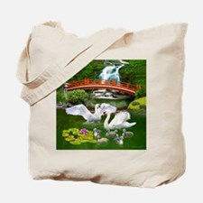 The Swan Family Tote Bag