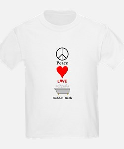 Peace Love Bubble Bath T-Shirt