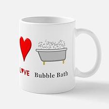 Peace Love Bubble Bath Mug