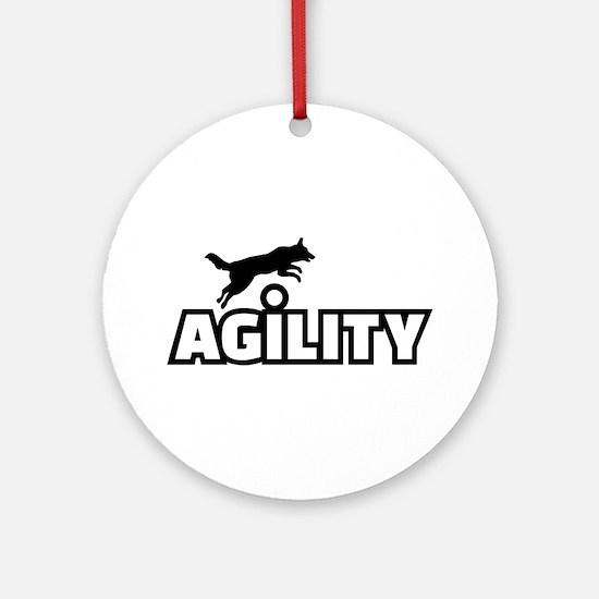 Agility Round Ornament