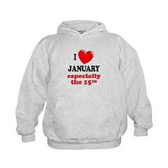 January 15th Hoodie
