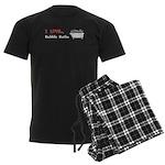 Love Bubble Baths Men's Dark Pajamas