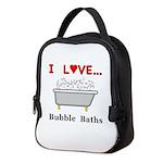 Love Bubble Baths Neoprene Lunch Bag