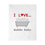 Love Bubble Baths Twin Duvet