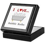 Love Bubble Baths Keepsake Box