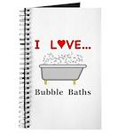 Love Bubble Baths Journal