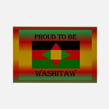 Washitaw Proud Rectangle Magnet