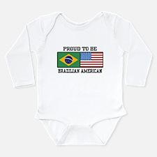 Cute Brasil Long Sleeve Infant Bodysuit