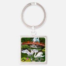 The Swan Family Keychains