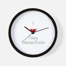 I love Treeing Tennesse Brindles Wall Clock