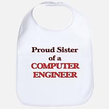 Proud Sister of a Computer Engineer Bib