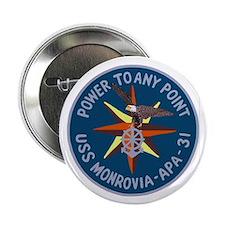 """USS Monrovia (APA 31) 2.25"""" Button (100 pack)"""