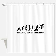 Evolution Aikido Shower Curtain