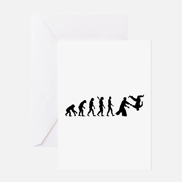 Evolution Aikido Greeting Card