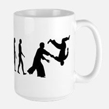 Evolution Aikido Large Mug