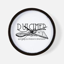 Dulcimer Wall Clock