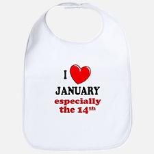 January 14th Bib