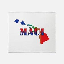 Maui Hawaii Throw Blanket