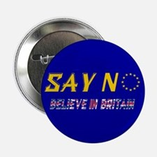 "Believe In Britain! 2.25"" Button"