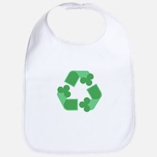Recycle Shamrock Bib