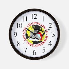 USS Chilton (APA 38) Wall Clock
