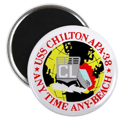 "USS Chilton (APA 38) 2.25"" Magnet (100 pack)"