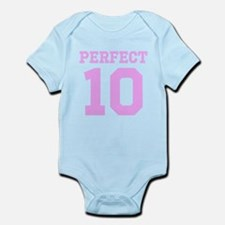 PERFECT 10 - PINK Infant Bodysuit