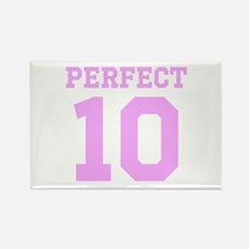 PERFECT 10 - PINK Rectangle Magnet