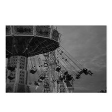 Funny Black white paris Postcards (Package of 8)