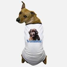 Newf(brown)Name Dog T-Shirt