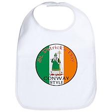 Conway, St. Patrick's Day Bib