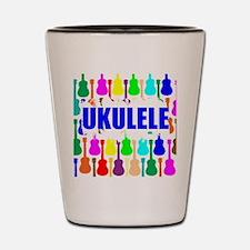 Rainbow Ukulele Shot Glass
