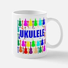 Rainbow Ukulele Mugs