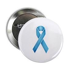 Teal Ribbon Button
