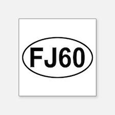 """Funny Toyota fj Square Sticker 3"""" x 3"""""""