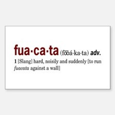 Fuacata Rectangle Decal