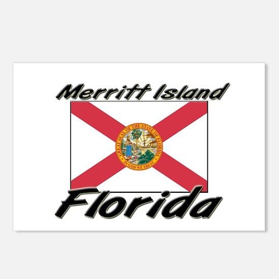 Merritt Island Florida Postcards (Package of 8)