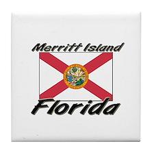 Merritt Island Florida Tile Coaster