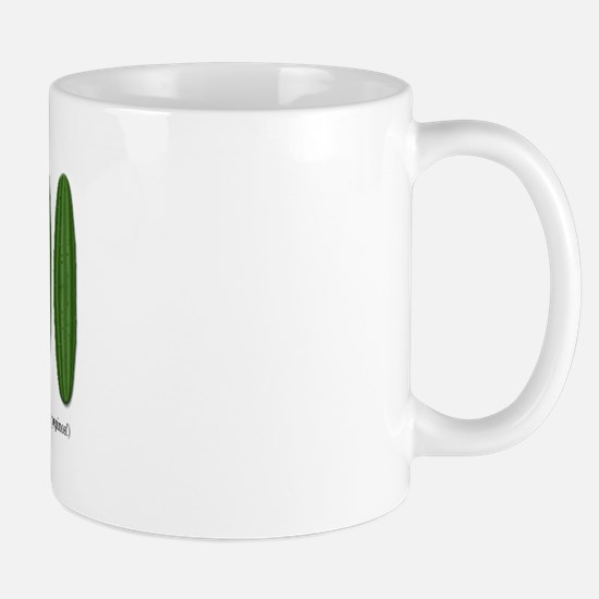 Me Importa Tres Pepinos Mug