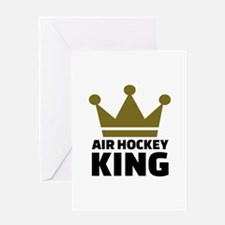 Air hockey King Greeting Card