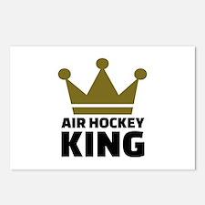 Air hockey King Postcards (Package of 8)