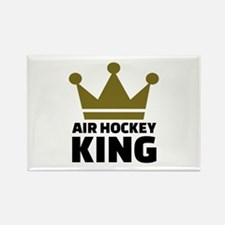 Air hockey King Rectangle Magnet