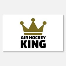 Air hockey King Decal