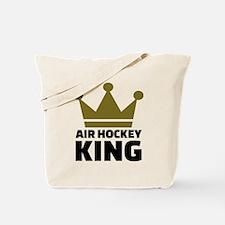 Air hockey King Tote Bag