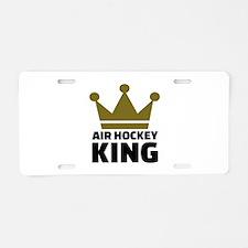 Air hockey King Aluminum License Plate