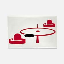 Air hockey Rectangle Magnet