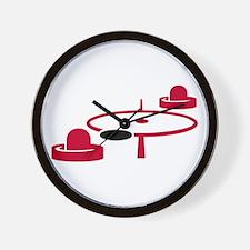 Air hockey Wall Clock